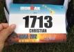 Mit der Startnummer 1713 ging Christian an der Start