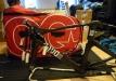 Das Rad wurde mit Hilfe der Firma EVOC super verpackt.