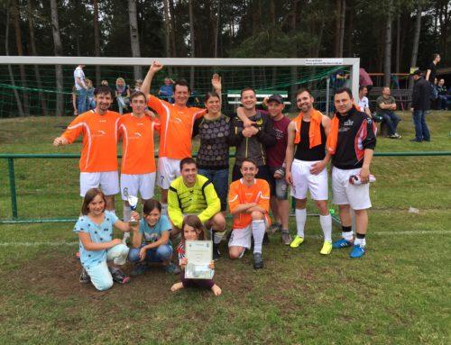 Team Drescher beim Sommersportfest 2015 in Catterfeld