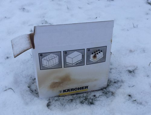 Wie ich fast unser Haus anbrannte!
